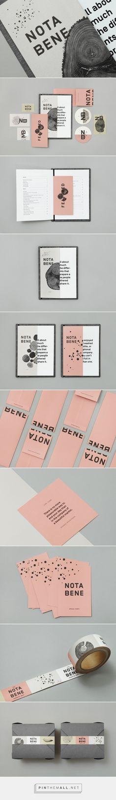 New Brand Identity for Nota Bene by Blok — BP&O - created via https://pinthemall.net