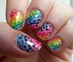 Rainbow dots!