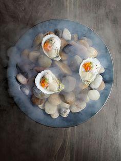 © Signe Birck. Dish by chef Matt Lambert at The Musket Room. Exclusive interview…