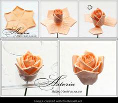 Her Majesty Rose---Part 4 of 8---written directions on post---http://astoriaflowers.blogspot.com/2012/01/blog-post_7452.html#more