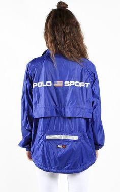 Vintage Polo Sport Windbreaker Jacket | Frankie Collective