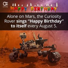 I learned something cool on the app: Every Year The Curiosity Rover Sings A Lonely Birthday Song Curiosity Rover, Birthday Songs, Singing Happy Birthday, Funniest Hilarious Memes, Funny Memes, Jokes, Best Funny Photos, Funny Pictures, Pretty Pictures