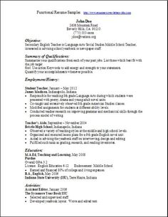 Functional Resumes Samples Functional Resume Samples:examples,samples Free  Edit With Word  Example Of Functional Resume