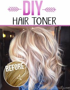 Diy highlights before and after touching up roots at home hair diy hair toner for gorgeous color gottagetbeauty solutioingenieria Gallery