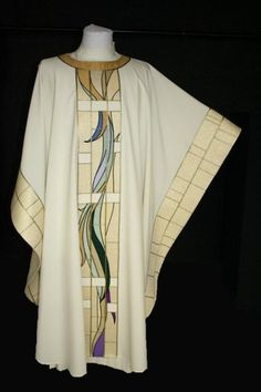 Maison Bouvrier - Recognized the world over for making the finest vestments available. - Stained Glass Chasuble