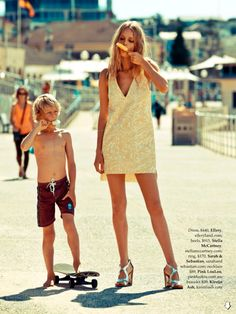 fashion editorials, shows, campaigns & more!: for we are young + free: eva downey by nick scott for elle australia january . Mode Editorials, Fashion Editorials, Barefoot Blonde, Looks Street Style, We Are Young, Seafolly, Kids Fashion, Womens Fashion, Summer Of Love