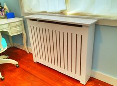 Custom Made Modern Radiator Cover. $650.00, via Etsy.