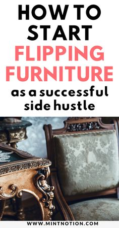 Learn how you can make extra money with flea market flipping. Find hidden treasures at yard sales and thrift stores and sell them online for profit. Furniture Repair, Furniture Makeover, Furniture Projects, Booth Displays, Retail Displays, Shop Displays, Jewelry Displays, Merchandising Displays, Window Displays
