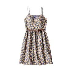 Mossimo Supply Co. Juniors Spaghetti Strap Dress w/ Belt - Assorted Colors