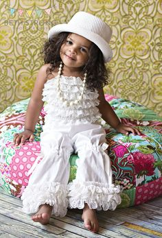 adorable ruffles kid fashion baby swag