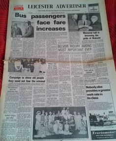 Leicester Advertiser, 1978