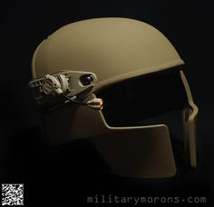 "Crye Precision ""AirFrame"" Helmet Reminds me of the Spartans helmet. Tactical Survival, Survival Gear, Tactical Gear, Airsoft Gear, Tac Gear, Tactical Equipment, Military Gear, Cool Gear, Body Armor"