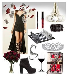 Games by glitterbatgirl-5sos on Polyvore featuring polyvore, fashion, style, H&M, Olympia Le-Tan, Bling Jewelry, Riedel and clothing