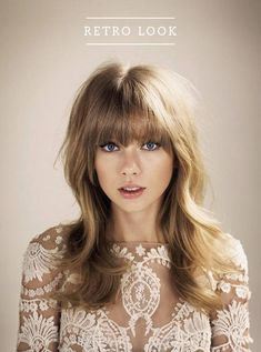 7 down hair styles | finally, hairstyles that will work for me | Taylor Swift | retro hairstyles