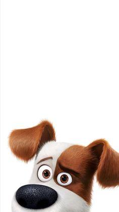 iPhone wallpaper Disney Phone Wallpaper, Dog Wallpaper, Cute Wallpaper Backgrounds, Wallpaper Iphone Cute, Disney Background, Secret Life Of Pets, Cute Cartoon Wallpapers, Cartoon Art, Cute Animals