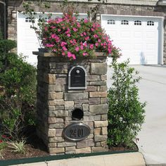 Dry stack stone siding for home exterior accents - traditional - Landscape - Other Metro - ProVia