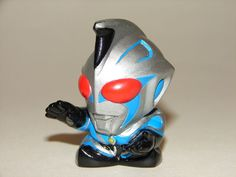 SD Chaos Ultraman Soft Vinyl Mini Candy Figure 1 1/2 Inches Tall from SD Ultraman Land Finger Puppet Set! Yutaka & Bandai Japan/Tsuburaya Productions??? http://www.ebay.com/itm/SD-Chaos-Ultraman-Figure-Ultraman-SD-Set-Godzilla-Gamera-/181292900999?pt=LH_DefaultDomain_0&hash=item2a35e62287