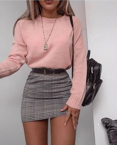 48 cool outfit ideas for a flawless look - Fashion - . - 48 cool outfit ideas for a flawless look – Fashion – - Cute Fall Outfits, Girly Outfits, Stylish Outfits, Grunge Outfits, Cute Casual Outfits For Teens, Mean Girls Outfits, Winter Party Outfits, Christmas Party Outfits Casual, Autumn Outfits For Teen Girls