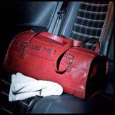 ELVIS & KRESSE [UK] Fire Hose & Parachute Silk Weekend Overnight or Gym Bag BNIB   eBay