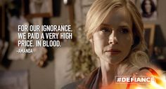 Destroying the VC came at a high cost. #Defiance
