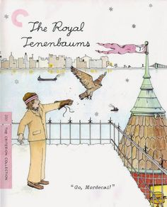 The classic Wes Anderson quirky style of dysfunctional comedy is well on display in The Royal Tenenbaums coming to Blu-ray in a definitive Blu-ray edition from the Criterion Collection. Os Excêntricos Tenenbaums, The Royal Tenenbaums, The Criterion Collection, Movie Collection, Wes Anderson Films, Wes Anderson Poster, Wes Anderson Characters, La Famille Tenenbaum, Laurent Durieux