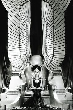 Claudette Colbert as Cleopatra #beyond