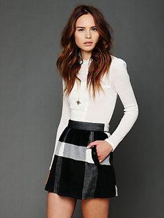 Buffalo Plaid Skirt. http://www.freepeople.com/whats-new/buffalo-plaid-skirt/