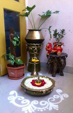 Art Deco Interior Pattern Living Rooms 43 Ideas For 2019 Ethnic Home Decor, Indian Home Decor, Diwali Decorations, Festival Decorations, House Plants Decor, Plant Decor, Home Garden Design, Home Interior Design, Craft Room Tables
