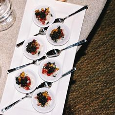 Off the menu: Nobu Malibu created this incredible dish exclusively for ROE featuring ahi tuna miso chips and furikake seaweed sprinkles made in house.