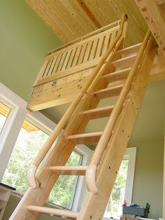 loft style handrails for ladders - Google Search