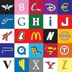 Alfabeto das Marcas, reconhece todas?