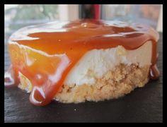 Cheesecake pommes caramel beurre salé