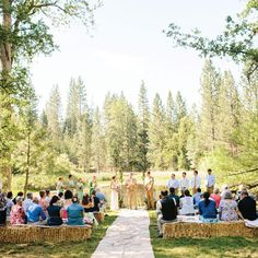 A Jubilant Forest Wedding in Mariposa Pines, CA
