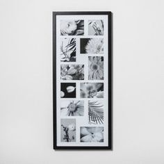 Thin Collage 12 Multi-Size Photo Frame Black - Made By Design™ : Target Collage Picture Frames, Wall Collage, Frames On Wall, Photo Collages, Wall Art, Photo Room, Photo Wall, Picture Wall, Picture Ideas