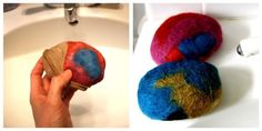 Felted Soap Tutorial | http://www.thesoutherninstitute.com