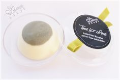"""Solid Massage Bar """"Time for Lime"""" with Cocoa- and Sheabutter"""