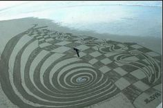 Amazing Sand Art of Peter Donnelly - 17 Pics+Video - mdolla