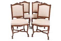 19th-C. Chairs, Set of 4 on OneKingsLane.com