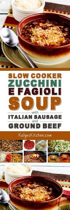 Slow Cooker Zucchini