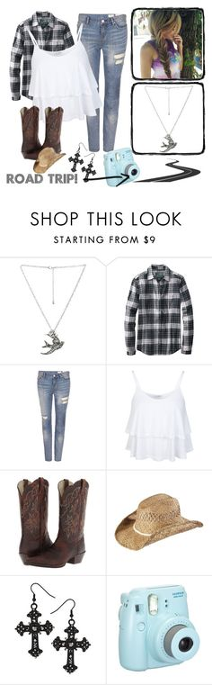 """""""Going on a Hike"""" by jwpixie ❤ liked on Polyvore featuring Wet Seal, Woolrich, AllSaints, Miss Selfridge, Ariat and KENNY"""