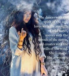 I'm a witch, I'm magick! Sacred Feminine, Feminine Energy, Divine Feminine, Wild Women Quotes, Woman Quotes, Goddess Quotes, Wild Waters, Now Quotes, She Wolf