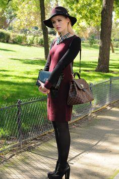La tendencia de los collares grandes en el street style