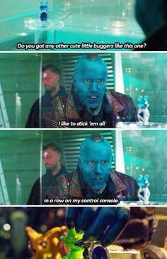 Yondu\'s trinkets. The money I would pay if someone made these things.