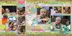 GingerScraps :: Bundled Goodies :: Easter Glitter Bundle by Clever Monkey Graphics