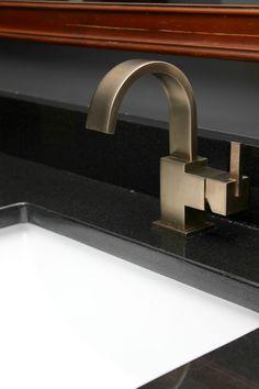 Master Bathroom Remodel   Delta Vero Single Handle Lavatory Faucet In Champagne  Bronze