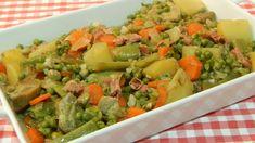 Receta fácil de menestra de verduras