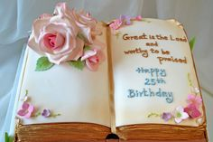 Bible cake   Flickr - Photo Sharing!
