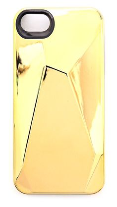 shopbop, Marc by Marc Jacobs Metallic Faceted iPhone 5 Case - $42