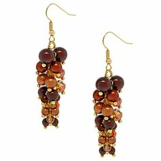 Autumn Time Earrings | Fusion Beads Inspiration Gallery  #inspirationinbloom