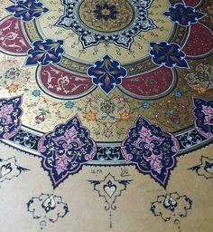 Islamic Art Pattern, Pattern Art, Illumination Art, Beautiful Flowers Pictures, Lotus Mandala, Iranian Art, Turkish Art, Arabic Art, Islamic Art Calligraphy